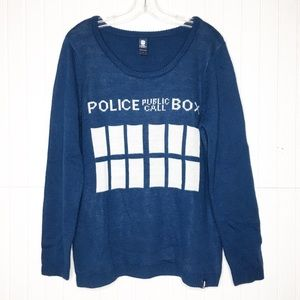 Dr Who | Callbox Sweater